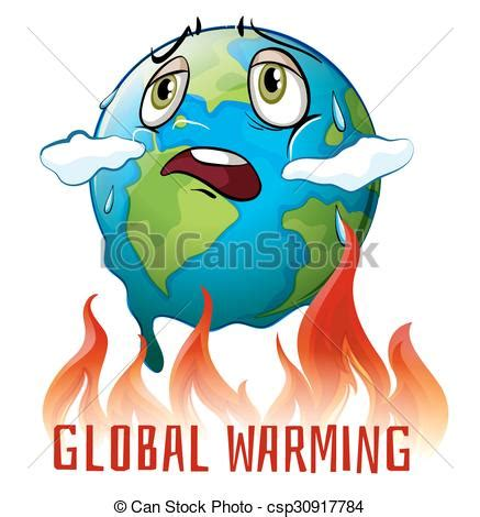 Small Home Plans Free by Vector Of Global Warming Poster With Earth On Fire