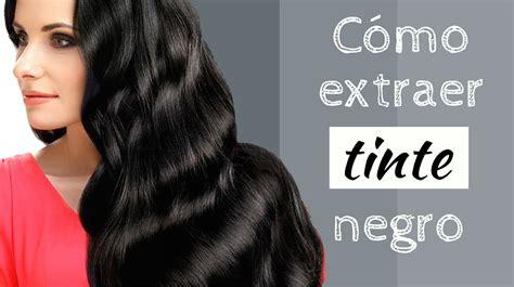 como quitar un tinte negro del cabello para ellas net c 243 mo extraer tinte negro
