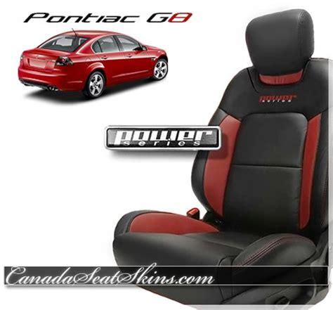 2008 2009 pontiac g8 custom leather upholstery