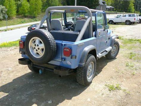 86 Jeep Wrangler Sell Used 1989 Jeep Wrangler 6 Cyl 5 Speed Cj7 Cj5