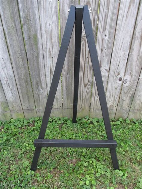 How To Make Small Display Easels My Repurposed Life 174