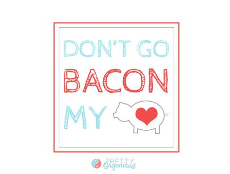 valentines bacon bacon recipes valentines day cards how to organize