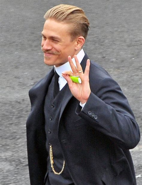 how to get charlie hunnam hair charlie hunnam s moustache and robert pattinson on set of
