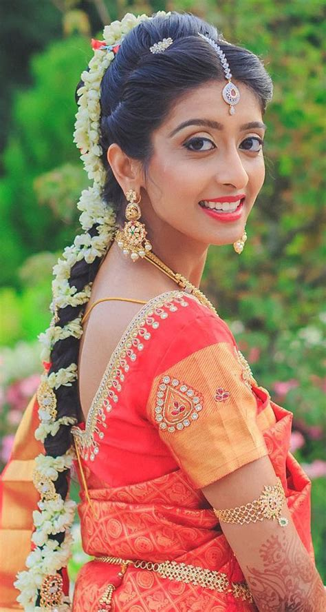 Traditional Wedding Hairstyles by Traditional Indian Bridal Hairstyles Www Pixshark