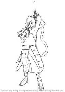 learn how to draw madara uchiha from naruto naruto step