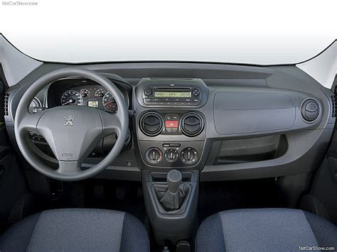 peugeot bipper interior van tastic from the captain s chair