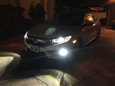 Car Fog Ls India by 2016 Civic Ex L Led Fog Lights Upgrade Pictures 2016 Honda Civic Forum 10th