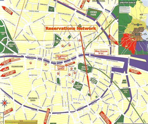 printable map dublin city centre dublin ireland map dublin irelandworld map 1797 print 点力图库