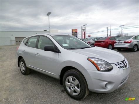 silver nissan rogue 2014 brilliant silver nissan rogue select s 91943054
