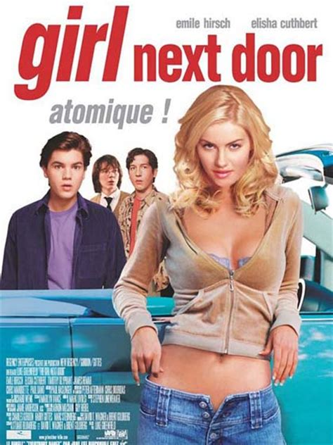 la ragazza della porta accanto 2004 cast poster 1 la ragazza della porta accanto
