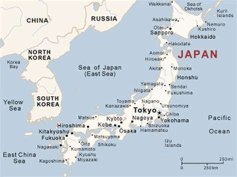 map japan map of japan japan