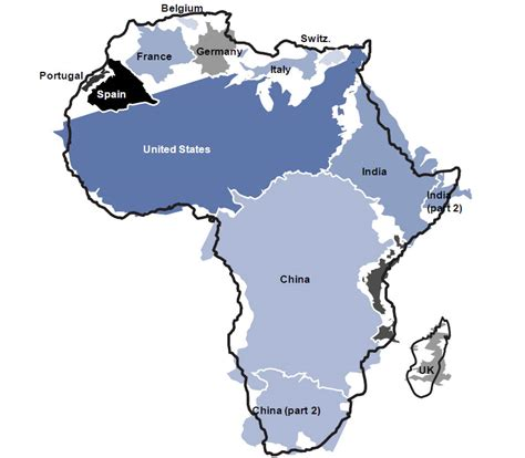 africa map vs usa guest post africa china and japan s next battleground