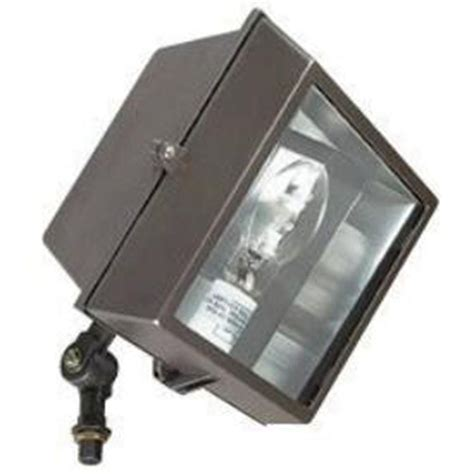 Home Depot Outdoor Flood Lights Sunset Shehow 1 Light Bronze Outdoor Flood Light F7386 66 The Home Depot