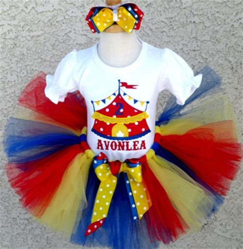 circus themed birthday outfit baby girls circus tent birthday tutu outfit set baby s