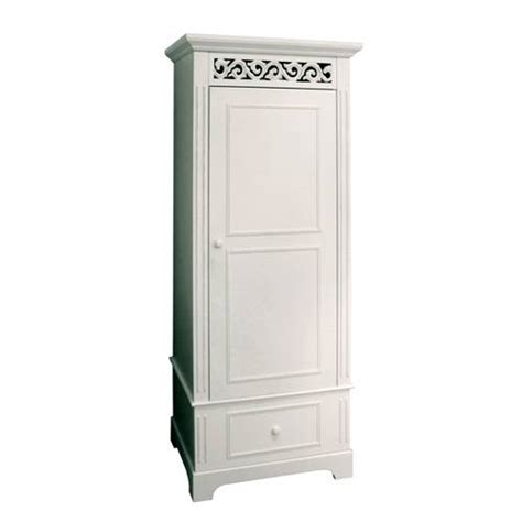 Buy Wardrobe Uk by Belgravia White Wardrobe Single 215 121 Review