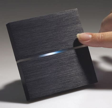 touch sensitive switches by basalte light switches