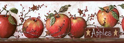wallpaper apple ke basket of apples wall border ke4914bdb wallpaper