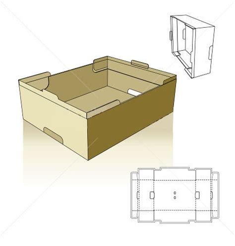 paper food tray template 17 best images about box pack layout on