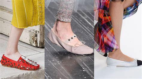 Sepatu Balet Heels intip 5 model sepatu wanita terbaru ala runway dunia