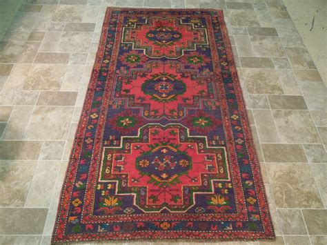 Clearance Runner Rugs by Purple Blue 4 X 8 Area Rugs Original Kazak Runner