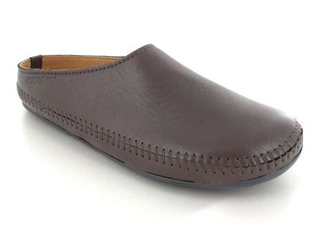 slippers in haflinger 174 leather slipper unisex p loft in anthracite look