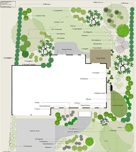 landscaping plans backyard landscape plan sle landscape plans and garden plans