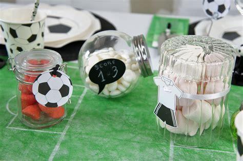 set de table foot id 233 es de d 233 coration de table pour les fans de foot 1001