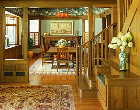 arts and crafts interior design decor ideas for craftsman style homes