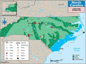 carolina land use map by maps from maps