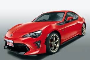Toyota Gt86 Parts Trd Releases Parts For 2017 Toyota Gt 86 In Japan