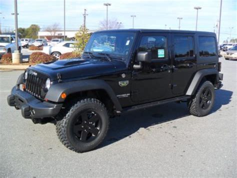 jeep wrangler unlimited call of duty for sale new 2012 jeep wrangler unlimited call of duty mw3 edition