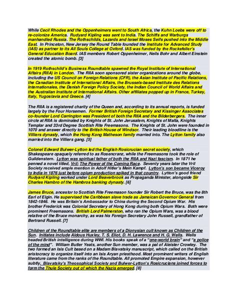 Rothschild Dynasty Committee 300 Dr Coleman the illuminati explained rothschild family