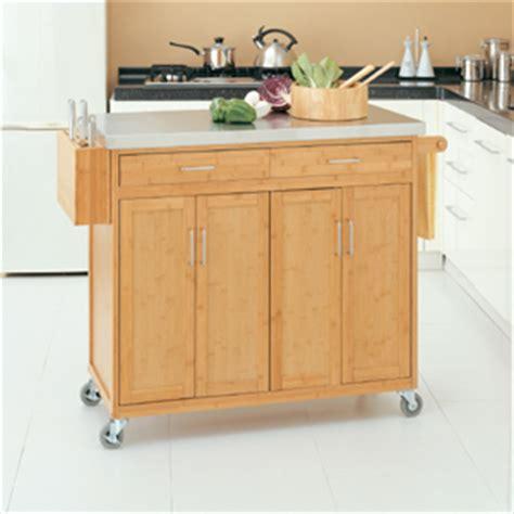 bamboo kitchen island kitchen carts bamboo kitchen cart 342 1 oia