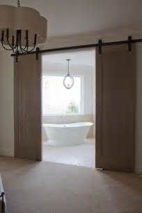 barn door ideas for bathroom bathroom barn doors transitional bathroom baines