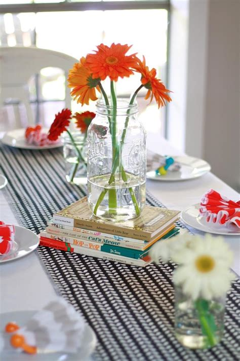 book themed decorations kara s ideas colorful book themed baby shower via