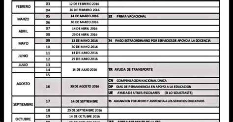 calendario de pagos sep magisterio informado zacatecas regional azcapotzalco cnte cdmx fechas de pago sep 2017