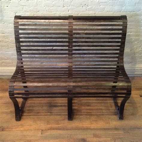 wrought iron park bench late 19th century victorian wrought iron park bench for sale at 1stdibs