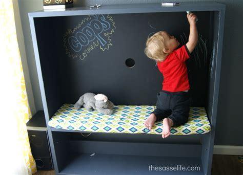 BESTÅ TV Stand Turned Kids Corner   IKEA Hackers   IKEA