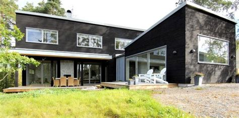 swedish prefab homes from modern living contemporist