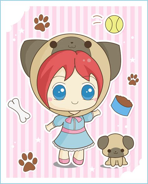 chibi pug pug chibi by bapity88 on deviantart
