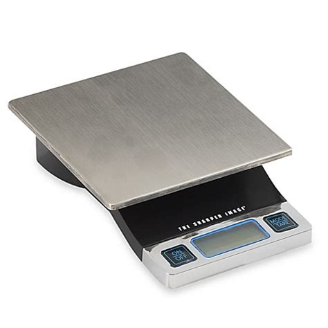 food scale bed bath beyond sharper image 174 precision digital food scale bed bath