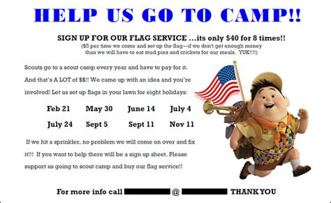 Advertising Our Boy Scout Flag Servi With Cub Scout Powerpoint Template I Yourweek 5b686aeca25e Boy Scout Flyer Template