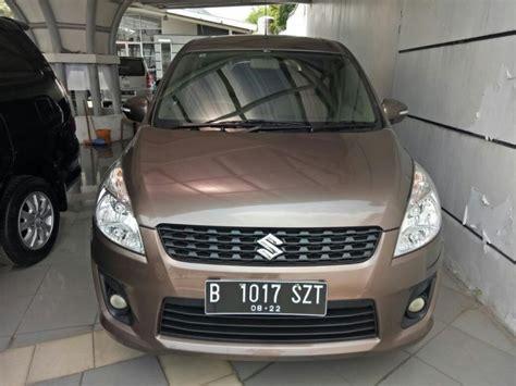 Suzuki Ertiga 2012 suzuki ertiga 2012 gx manual coklat metalik mobilbekas