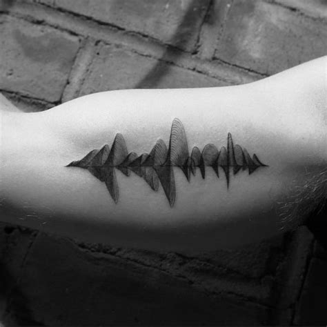 the 25 best ideas about sound wave tattoo on pinterest
