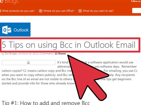bcc in 6 easy ways to use bcc in an email with pictures