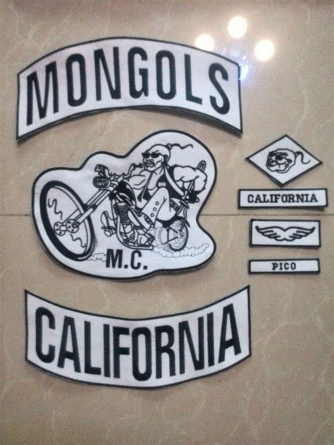 biker mongols patches for jacket custom patch motorcycle