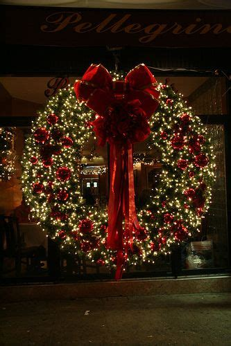 outdoor wreaths with lights wreath gorgeous most wonderful time of the
