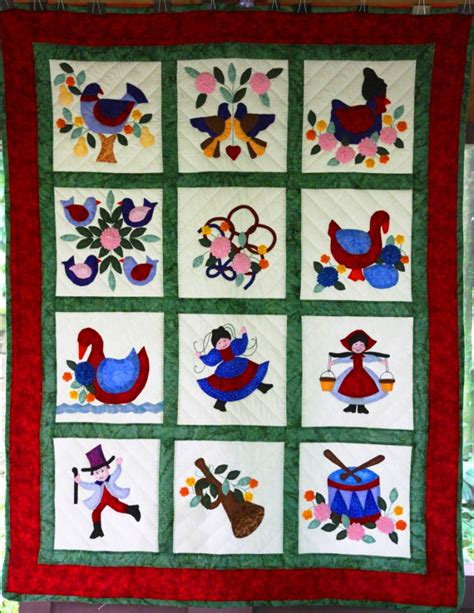 12 Days Of Quilt Pattern by Twelve Days Of Quilt