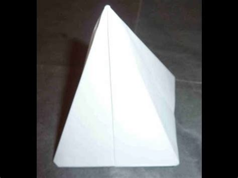 origami tent how to make fast easy tent origami テント折り紙 tienda 帐篷
