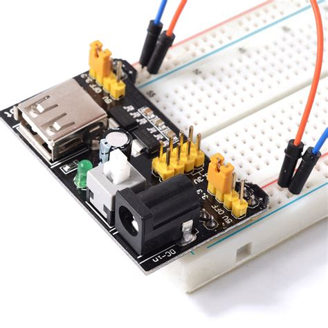 Power Supply 5v 33v Module For Breadboard Mb 102 high power led 3w with arduino